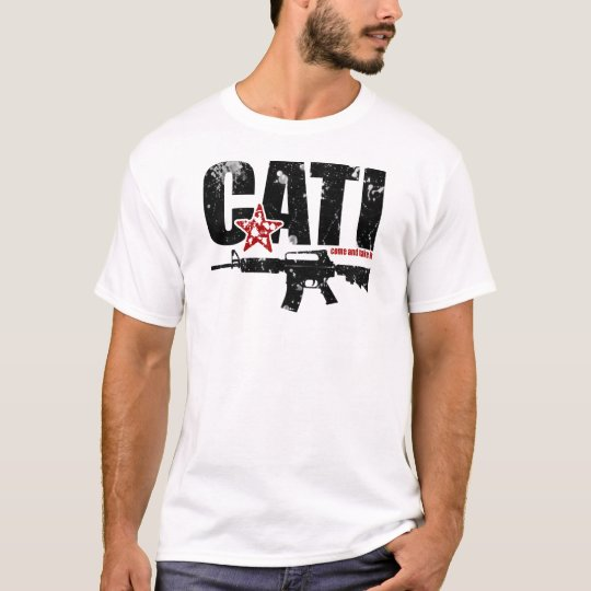 Come And Take It AR15 T-Shirt - Black & Red