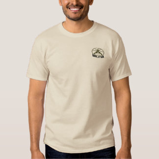 Come and Take It (Back) DOF Militia (Front Pocket) Tee Shirt