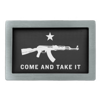 Come And Take It Belt Buckles