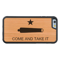 Come And Take It Carved Cherry Iphone 6 Bumper Case at Zazzle
