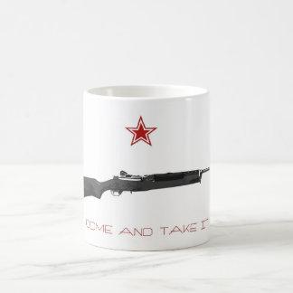 Come and take it coffee mug