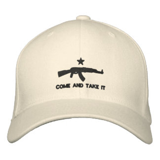 Come And Take It Embroidered Baseball Hat