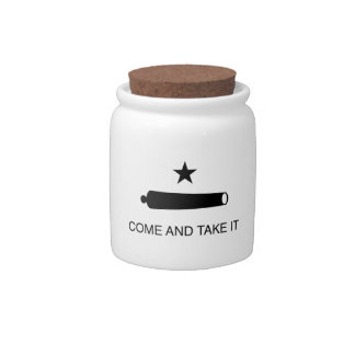 Come and Take It Flag Candy Dishes