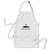 Come and take it flag.jpg adult apron