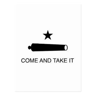 Come and Take It Flag Postcard
