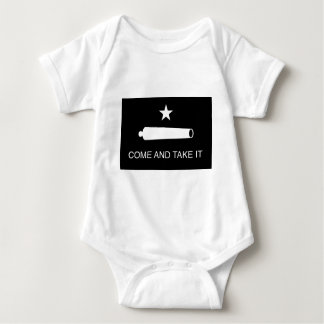 Come and Take It Flag (Reversed) Baby Bodysuit