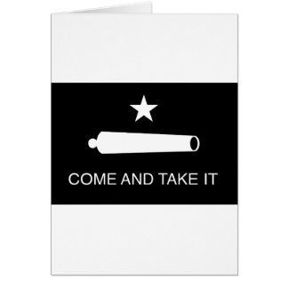 Come and Take It Flag (Reversed) Card