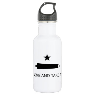 Come and Take It Flag Stainless Steel Water Bottle