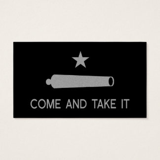 Come and Take It Flag ~ Texas Business Card