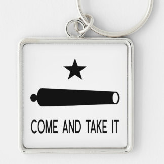 Come and Take It Flag ~ Texas Keychain