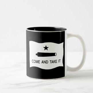 Come and Take It Flag Two-Tone Coffee Mug