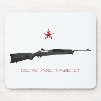 Come and take it mouse pad