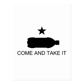 Come And Take It Nanny Staters! Postcard