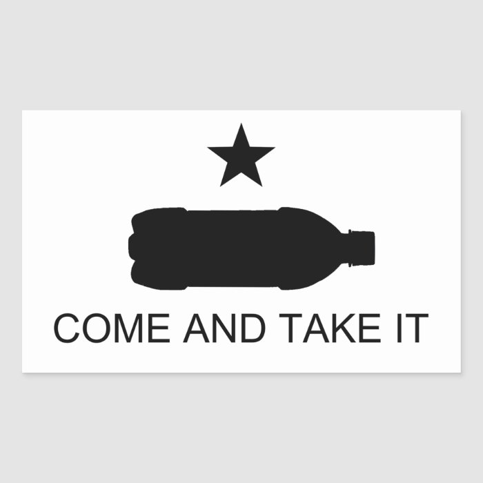 Come And Take It Nanny Staters (Sticker) Rectangular Sticker