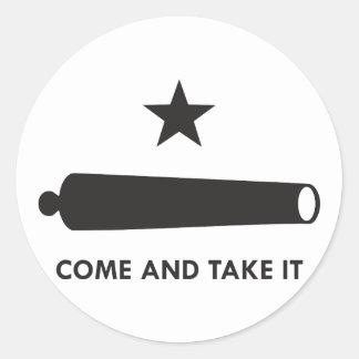 Come and take it! (Original) Classic Round Sticker