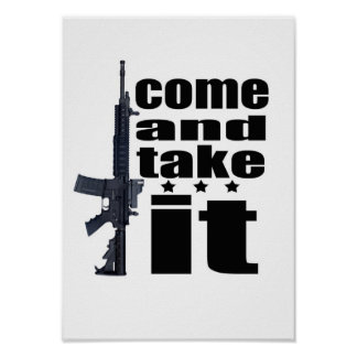 Come and Take It, Poster