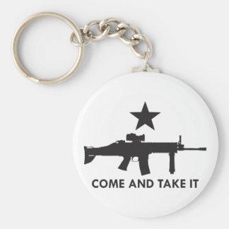 Come and take it! (Rifle 2) Keychain
