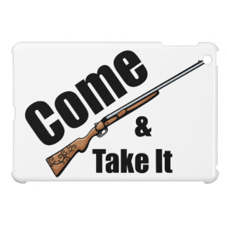 Come and Take It Rifle iPad Mini Covers