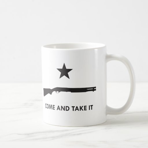 Come and take it! (Shotgun) Classic White Coffee Mug