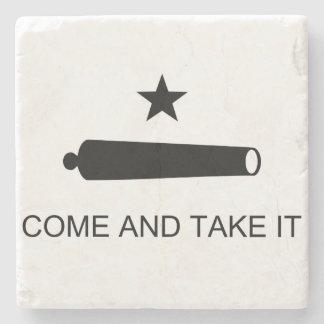Come and Take It Stone Coaster