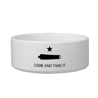 Come And Take It Texas Flag Battle of Gonzales Bowl