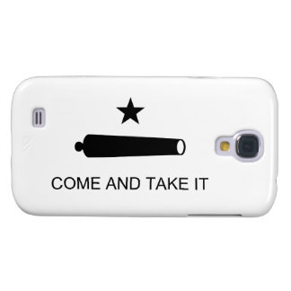 Come And Take It Texas Flag Battle of Gonzales Samsung Galaxy S4 Cases