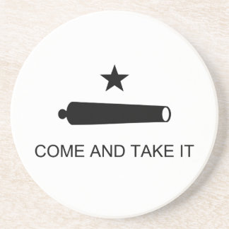Come And Take It Texas Flag Battle of Gonzales Coasters