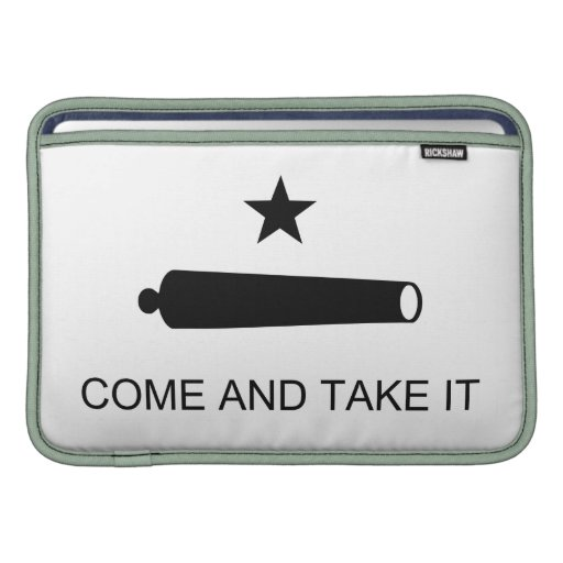 Come And Take It Texas Flag Battle of Gonzales Sleeve For MacBook Air