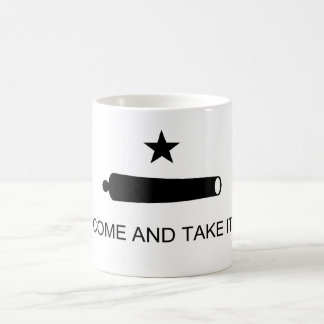 Come And Take It Texas Flag Battle of Gonzales Coffee Mugs