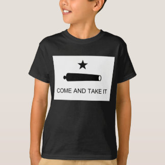 Come And Take It Texas Flag Battle of Gonzales T-Shirt
