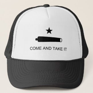 Come And Take It Texas Flag Trucker Hat