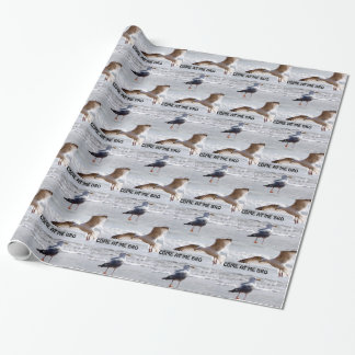 Come at me bro! Seagull Version Wrapping Paper