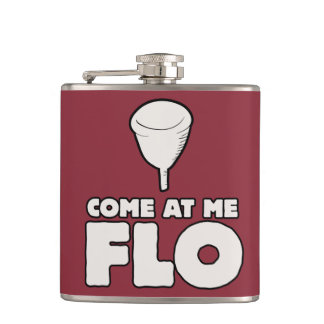 Come at me FLO Hip Flask