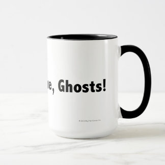 Come at me, ghosts! Black Mug