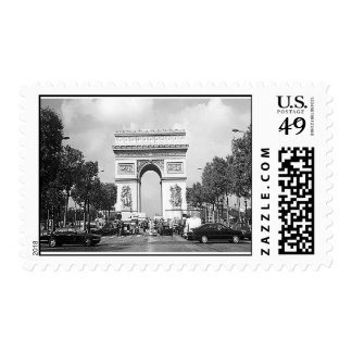 Come Away With Me to France Postage Stamp