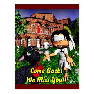 Come Back Home! Postcard