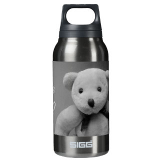 Come Back Teddy Insulated Water Bottle