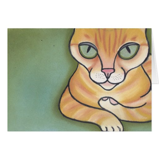 Come Closer Little Mouse by Robyn Feeley Greeting Card