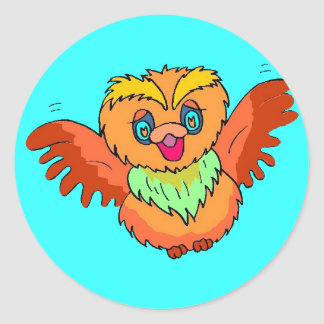 Come Fly With Me Classic Round Sticker