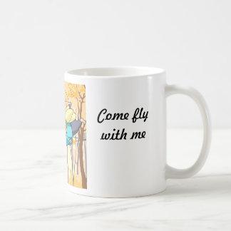 Come fly with me! coffee mug