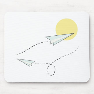 Come Fly with Me Mouse Pad