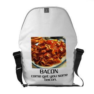 Come Get You Some Bacon Courier Bag