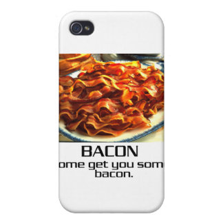 Come Get You Some Bacon Covers For iPhone 4