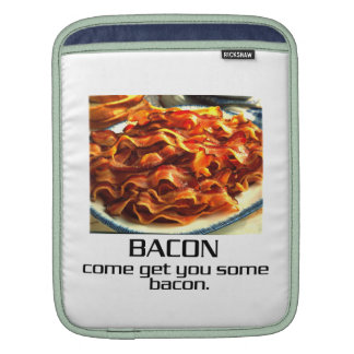 Come Get You Some Bacon iPad Sleeves