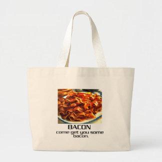 Come Get You Some Bacon. Jumbo Tote Bag