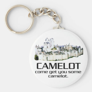 Come Get You Some Camelot. Basic Round Button Keychain