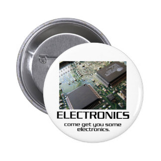 Come Get You Some Electronics 2 Inch Round Button
