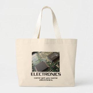 Come Get You Some Electronics Jumbo Tote Bag