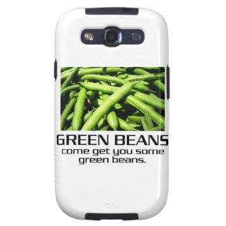 Come Get You Some Green Beans. Galaxy S3 Case