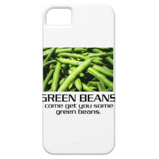 Come Get You Some Green Beans. iPhone 5 Cases